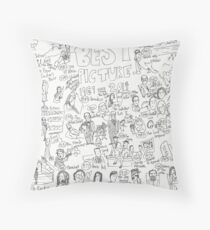 Best Picture (1969-2014) Throw Pillow