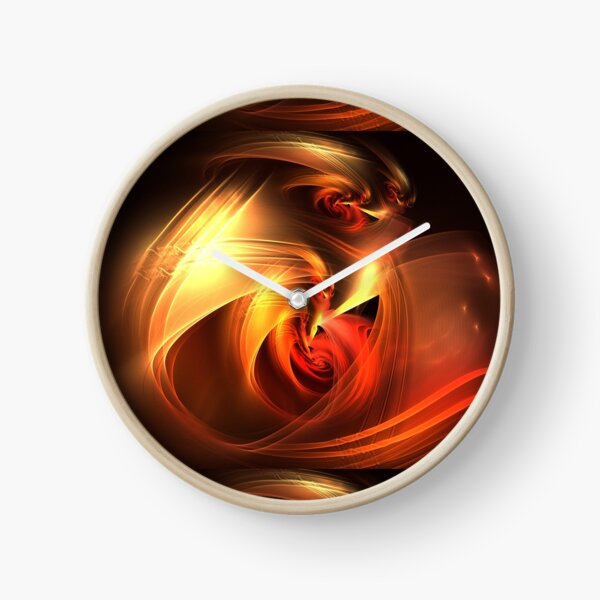 Dragon Glow Clock