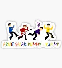 Yummy Yummy Yummy Yummy Fruit Salad Sticker