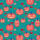 Cat faced pumpkins by Elizabeth Levesque