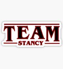 Stranger Things Team Stancy (Steve and Nancy) Sticker
