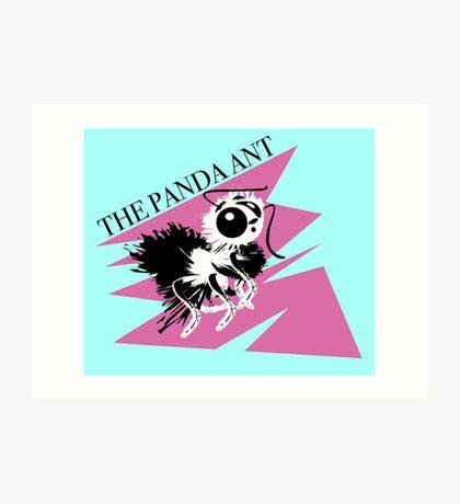 The Panda Ant Art Print