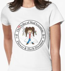 The [dis] Order of Mad Scientists Women's Fitted T-Shirt