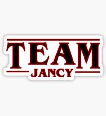 Stranger Things Team Jancy (Jonathan and Nancy) Design Art Sticker
