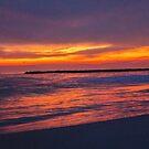LBNY Winter's Sunset by KarenDinan