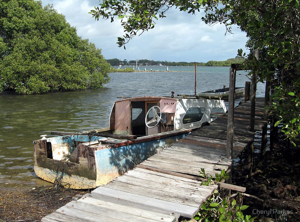 Old Fishing Boat by Cheryl Parkes