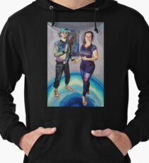 Humans in the Visionary Age Lightweight Hoodie