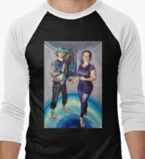 Humans in the Visionary Age Men's Baseball ¾ T-Shirt