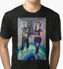 Humans in the Visionary Age Tri-blend T-Shirt