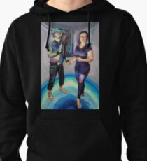 Humans in the Visionary Age Pullover Hoodie