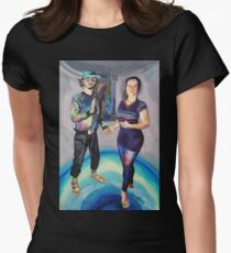 Humans in the Visionary Age Women's Fitted T-Shirt