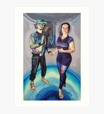 Humans in the Visionary Age Art Print