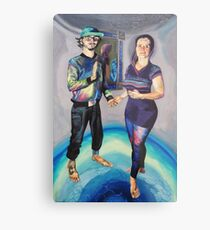 Humans in the Visionary Age Metal Print