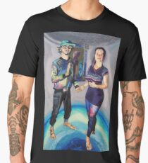 Humans in the Visionary Age Men's Premium T-Shirt