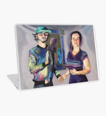 Humans in the Visionary Age Laptop Skin