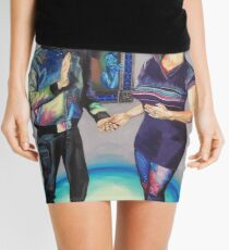 Humans in the Visionary Age Mini Skirt