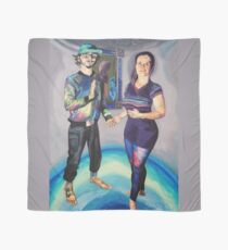 Humans in the Visionary Age Scarf