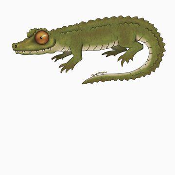 Crocodile by llama