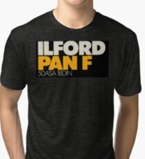 Ilford PanF Tri-blend T-Shirt