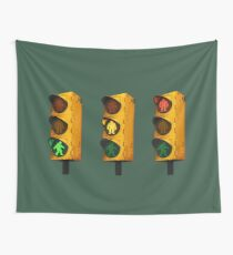 Cryptid Crossing Wall Tapestry
