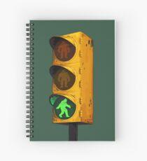 Bigfoot Crossing Spiral Notebook