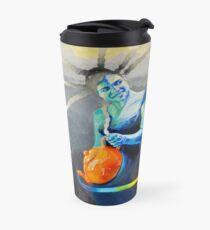 Heal with Rainbow Tea (self portrait) Travel Mug