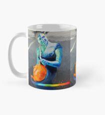 Heal with Rainbow Tea (self portrait) Mug