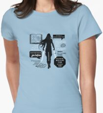 Throne of Glass Women's Fitted T-Shirt