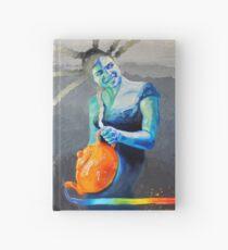 Heal with Rainbow Tea (self portrait) Hardcover Journal