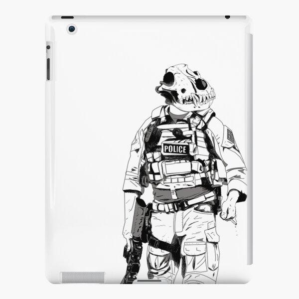K9 B&W iPad Snap Case