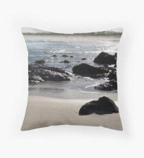 Silver Rocks Throw Pillow