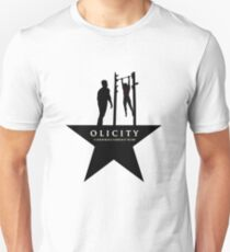 Olicity on a star T-Shirt