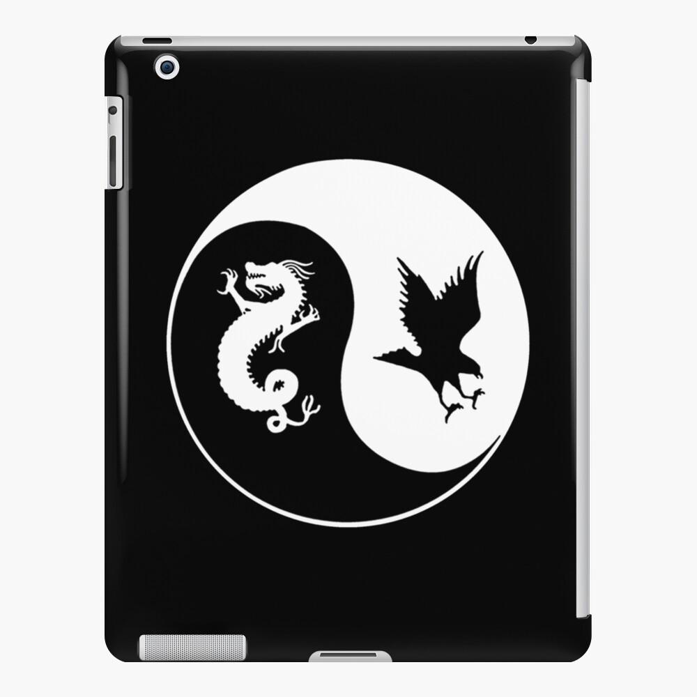 Dragon and the Hawk Logo iPad Case & Skin