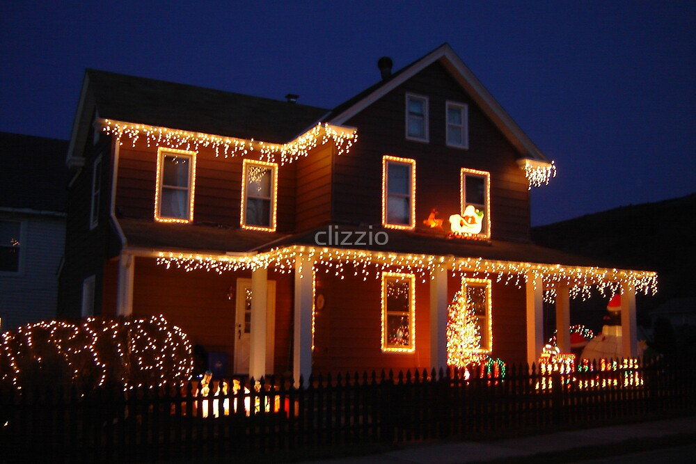 Christmas Lights  by clizzio