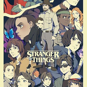 stranger things series by vulfdart09