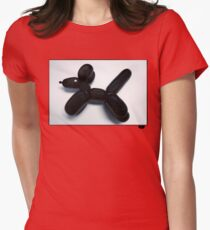Balloon Womens Fitted T-Shirt