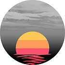 Vague Sunset by Pamela Howard