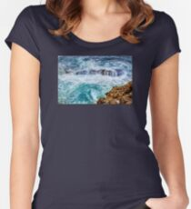 Beauty of the Pacific Women's Fitted Scoop T-Shirt