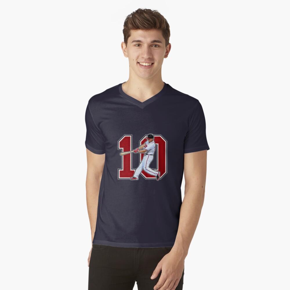 10 - Chipper (original) V-Neck T-Shirt