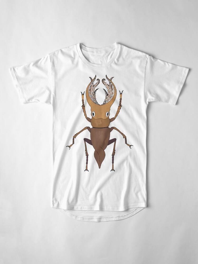 Alternate view of Beetle Long T-Shirt