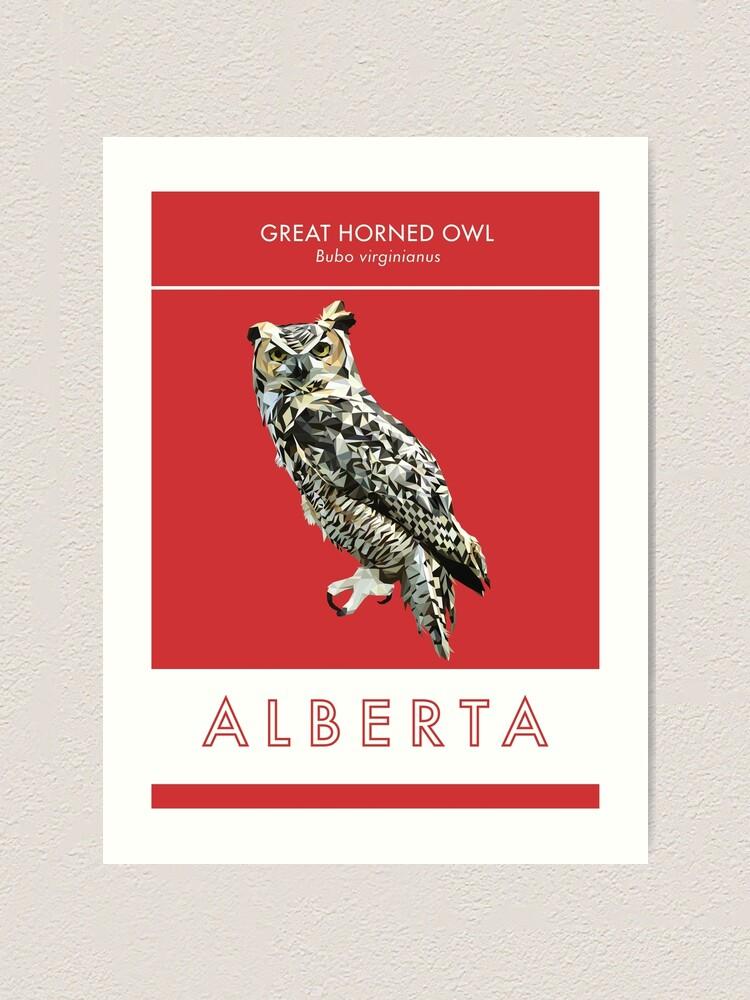 Alternate view of Alberta Art Print