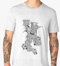 The Neighborhoods of Sacramento Men's Premium T-Shirt