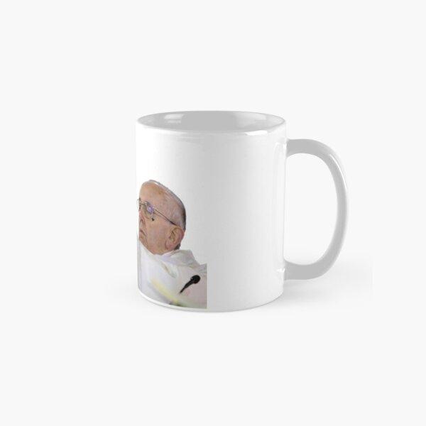 the pope holding electra Classic Mug
