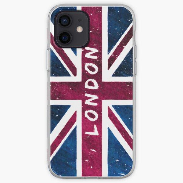 London British Union Jack Flag iPhone Soft Case