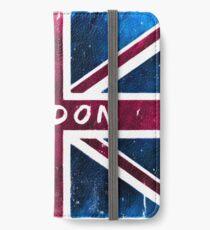London Britische Union Jack Flagge iPhone Flip-Case/Hülle/Skin