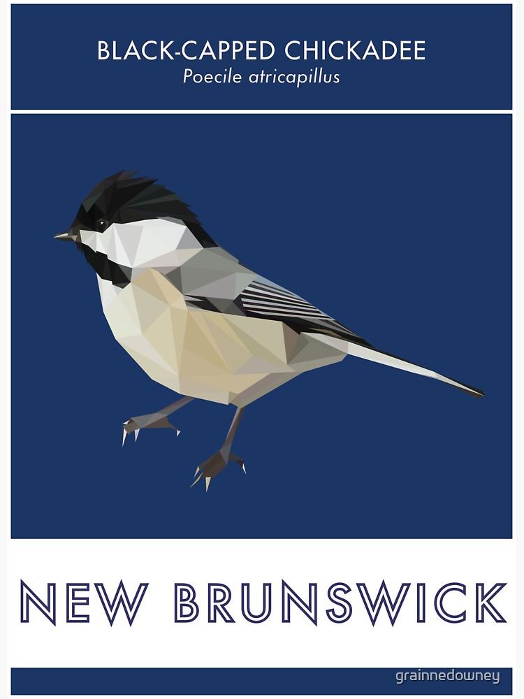 New Brunswick - Black-capped Chickadee by grainnedowney
