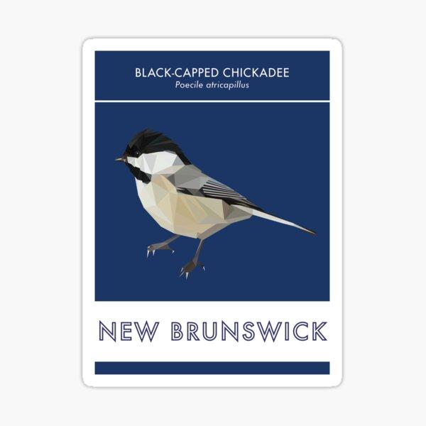 New Brunswick - Black-capped Chickadee Sticker