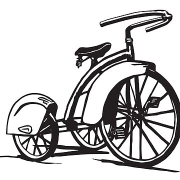 Totally Cool Vintage Tricycle by studiolabeleven