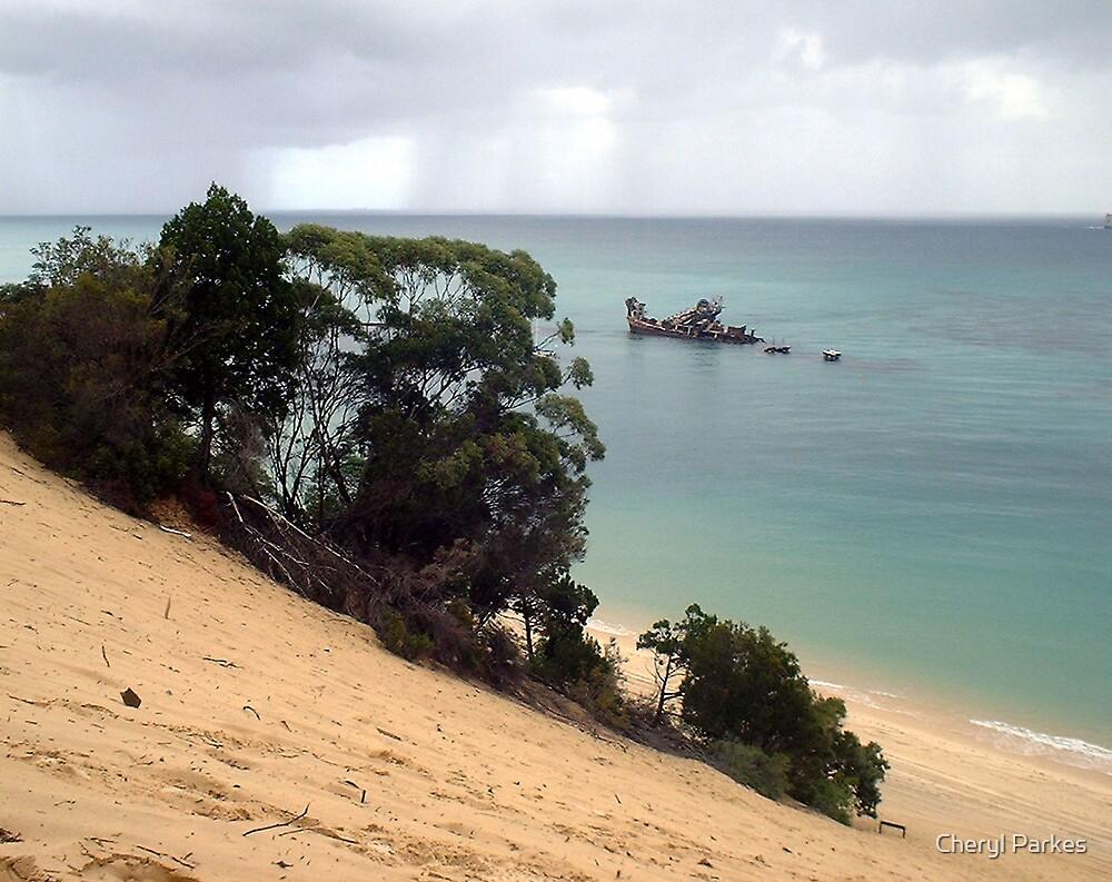 Tangalooma Wrecks by Cheryl Parkes