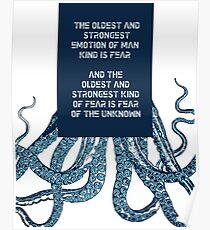 HP Lovecraft Poster
